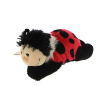 MagNICI Ladybird Ladybug Stuffed Toy Animal Magnet in Paws 5 inches 12 cm - $11.99