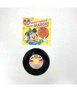 1975 DISNEYLAND 45 rpm record MICKEY MOUSE CLUB MARCH w/ sleeve RARE - $25.00