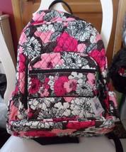 Vera Bradley Campus backpack  in Mocha Rouge pattern  - $62.75