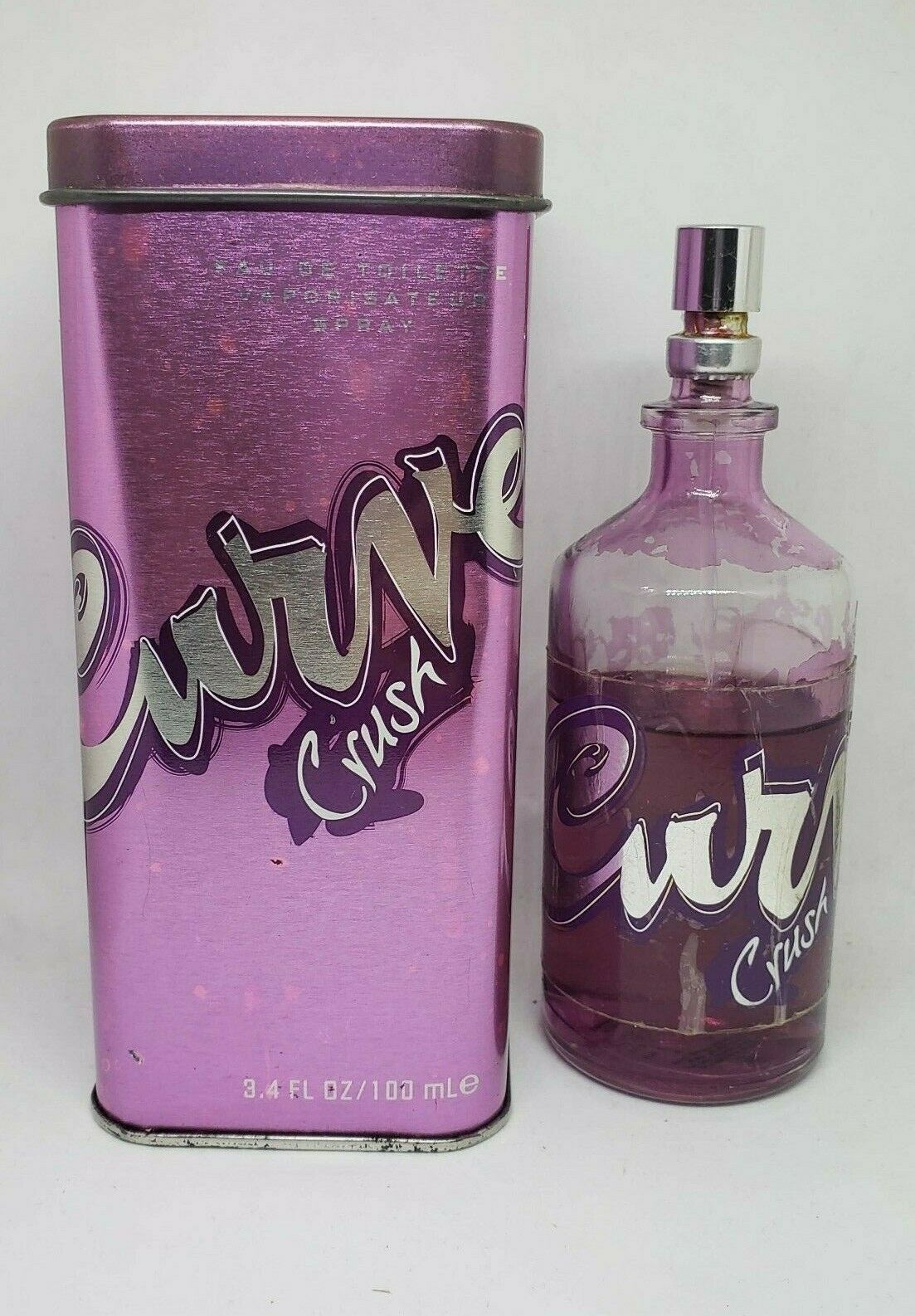 Primary image for Curve Crush By Liz Claiborne 3.4oz EDT Spray for Women