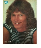 Rex Smith Chuck Billings teen magazine pinup clipping baseball shirtless... - $3.50
