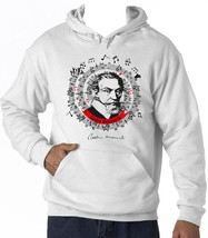 CLAUDIO MONTEVERDI - NEW COTTON WHITE HOODIE - $39.55