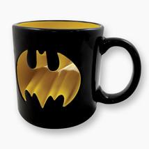 DC Comics Batman Bat Insignia Punch Through 14 oz Ceramic Coffee Mug NEW... - $11.64