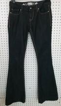 Womens Express Jeans Flare Stella Regular Fit Low Rise Sz 0 - $7.91