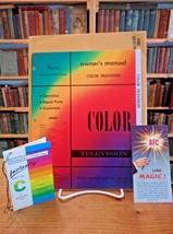 Sears Roebuck Vintage Silvertone Color Television Manual NM - $18.95