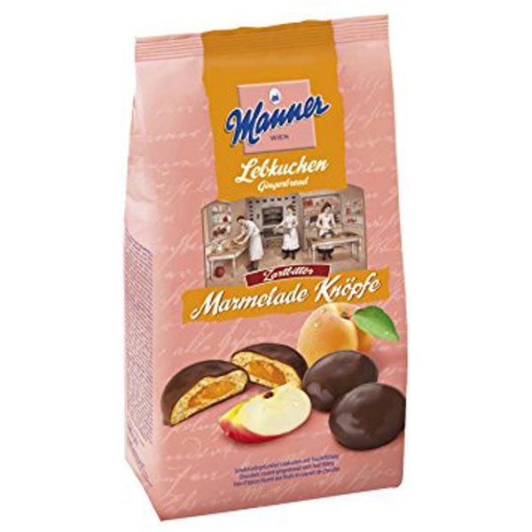 Manner - Marmelade Knoepfe Lebkuchen 180g $7.95