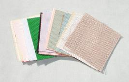 24 Mixed Cross Stitch Backgrounds - Sewing Supplies - $13.99