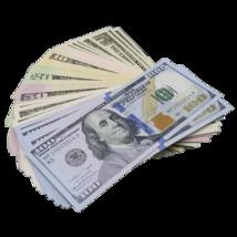 $1/$5/$10/$20/$50/$100 Full Print Mixed Bills Poker Game Prank Music Video - $14.99