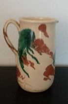 Vintage A. La Grotta Grottaglie Art ceramic pottery  Pitcher - $89.10