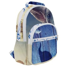 Rounded Multi Pocket Backpack kids school bag dumbo elephant elefante - $53.00