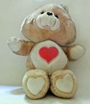 """Vintage Care Bears - Tender Heart Bear Kenner 1983 13"""" - $12.86"""