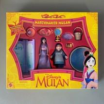 Matchmake Mulan Playset Disney Action Figures Doll Set #67933 - $30.00