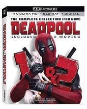 Deadpool 1 & 2 Complete Collection (For Now) (4K Ultra HD+Blu-ray+Digital, 2018)