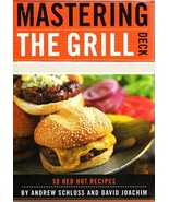 Mastering The Grill Deck 50 Card box Barbecue Grilling Recipes Schloss &... - $24.26