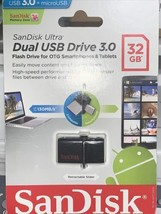SanDisk Ultra Dual 32 GB Android Phone USB Flash Drive - $11.52