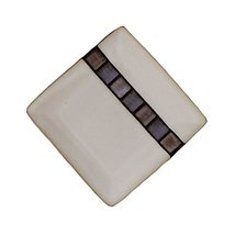 "Creative Hand-Painted Ceramic Square 8.5"" Plate F - $25.33"