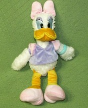 "Disney 20"" DAISY DUCK Scruffy Plush Stuffed Animal Doll Original Toy Purple Pink - $20.57"