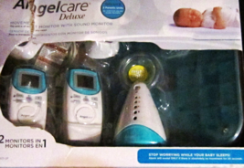 Angelcare AC401-2P Deluxe Movement & Sound Monitor w/ 2 Rechargeable Par... - $109.00
