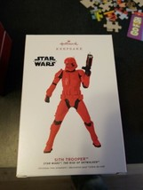 2019 Hallmark Ornament THE SITH TROOPER STAR WARS THE RISE OF SKYWALKER ... - $19.80
