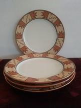 Set Of 4 Mikasa Terrastone Laramie Dinner Plates - $74.79