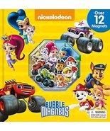 Nick Jr. Bubble Magnet Book [Board book] Phidal Publishing Inc. - $4.85