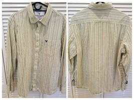 American Eagle Mens XL Vintage Fit striped button up shirt Mens size XL ... - $14.31