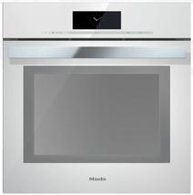 Miele DGC6865XXLBRWS 24 Inch Plumbed PureLine Steam-Oven in Brilliant White - $4,157.95