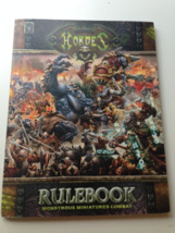 Privateer Press Hordes quick start mini rule book  - $5.00