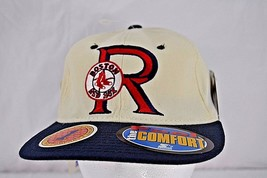 Boston Red Sox Rare 90 Baseball Cap Ivory/Blue Fitted 6 5/8 - 7 1/8  NWT - $21.99