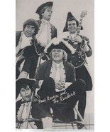 """Revere and Raiders 3 1/2"""" X 5 1/2"""" B/W Picture with Autobiography by BIL... - $1.75"""