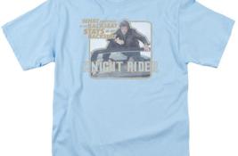 Knight Rider Retro 80's TV show David Hasselhoff & Kitt graphic t-shirt NBC667 image 3