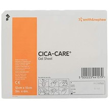"Cica-Care Silicone Gel Adhesive Sheet 5"" x 6"" - $52.13"