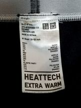 Alexander Wang x Uniqlo Men Black Activewear Pants M Heattech Extra Warm image 4