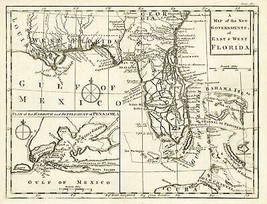Florida - Gibson 1763 - 23.00 x 30.08 - $36.58+