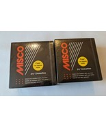 """2 Misco Floppy Disks Vintage 3.5"""" 3 1/2"""" Boxes of 11 2 Side HD 2 MB  NEW - $27.96"""