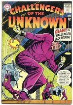 CHALLENGERS OF THE UNKNOWN #36 1964-DC COMICS DINOSAURS-very good VG - $24.83