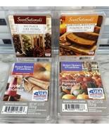 4pc Mix Lot Better Homes & Gardens ScentSationals Wax Cubes PUMPKIN SPIC... - $16.88