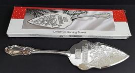 "International Silver Christmas Serving Trowel - Silver Plate - 12"" x 3"" - $12.19"