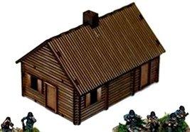 4Ground 15mm Terrain European Buildings Log Timber House