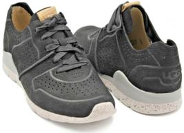 Ugg  Australia Tye Sneakers Tennis Black Women's Casual Shoes Size 6  image 3