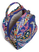 Vera Bradley Quilted Signature Cotton Iconic Lunch Bunch Bag, Romantic Paisley image 2