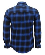 Men's Premium Cotton Button Up Long Sleeve Plaid Comfortable Flannel Shirt image 3