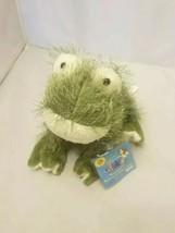 Webkinz GANZ Frog HM001 Fuzzy Plush Stuffed Animal Toy with Tag Sealed Code - $11.99