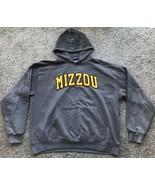 Champion Missouri Tigers Hooded Sweatshirt Men's Size XL Gray - $12.87