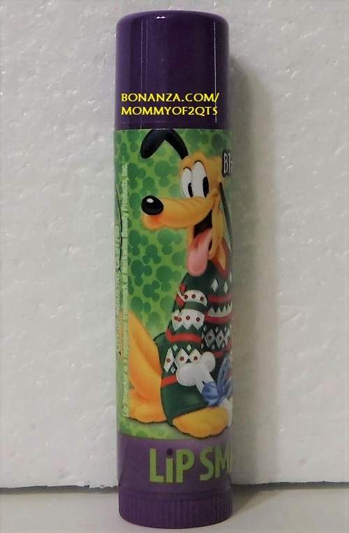 Primary image for Lip Smacker BLACKBERRY CREAM Pluto Disney Lip Balm Gloss Stick Mistletoe Kisses