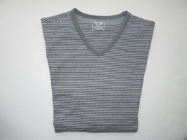 APT.9 Feeder Stripe V-Neck Short Sleeve Men's T-Shirt Dark Gray Heather ... - $14.00