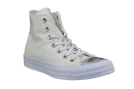 Womens Converse CT All Star Brush Off Hi Top Sneaker White/White 553304F - $52.00