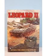 Leopard II: Game of Tank Combat in Future War Tsukuda Hobby 1986 Unpunch... - $204.93