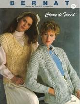 Bernat Creme de Tweed Book 563 Handicrafter 1985 10 Page Pattern Booklet... - $7.91