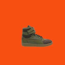 PUMA Sky 2 Hi Chipmunk Chocolate Brown Youth Duck Boots Size 4 - $55.43